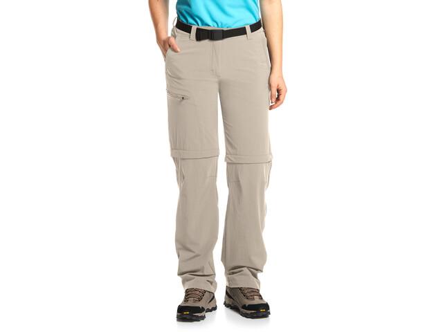 Maier Sports Nata Pantalones Mujer, feather gray